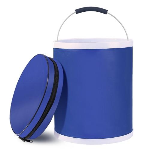 13л ведро для воды складное ведро контейнер для хранения воды с сумкой для хранения для кемпинга, пешего туризма, путешествий, рыбалки, стирки