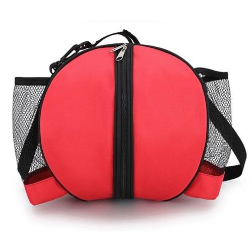 Größe 7 Basketball Sportball für Fußball Fußball Volleyball Tragetasche Reisetasche mit Wasserflaschenhaltertaschen