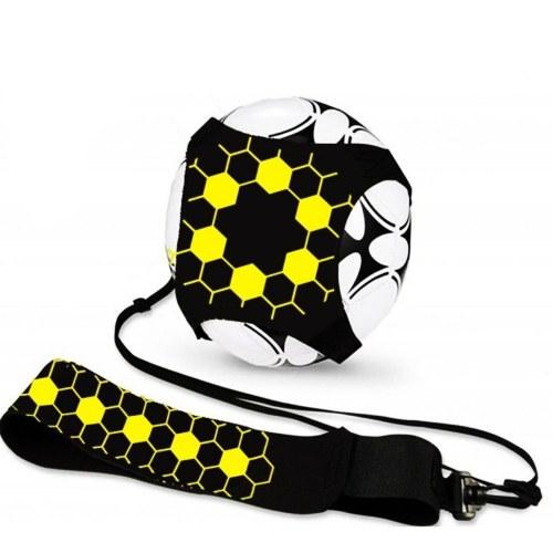 Fußballtrainer Fußball-Kick-Trainer Solo übende Fußball-Trainingshilfe mit verstellbarem Gürtel Fußball-Trainingsgeräte in allen Größen
