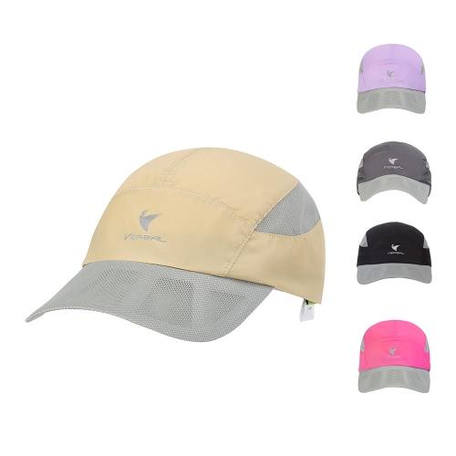 VEPEAL Unisex Быстросохнущая сетка Бейсболка Sun Cap Наружная легкая защита от ультрафиолетового излучения Спортивная шляпа фото