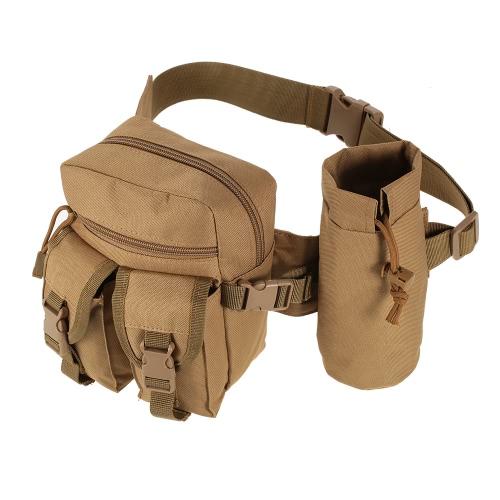 Tattico Molle Marsupio Bag pacchetto di Fanny Escursioni Pesca della vita di caccia Borse tattici Sport Hip Belt sacchetto esterno di viaggio militare Attrezzatura, Ingranaggio