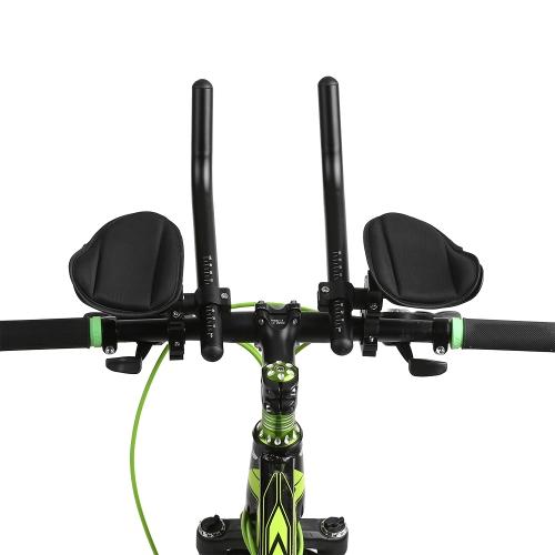 Велосипед Отдых Руль Велоспорт Aero Бар Велосипед Релаксация Ручка Бар Triathlon MTB Дорожный велосипед Подставка для отдыха Бар Велосипед Aerobar фото