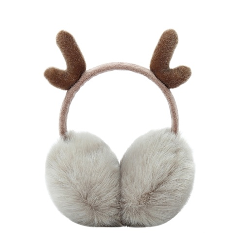 Cute Fashion Antlers Earmuffs Outdoor Winter Warm