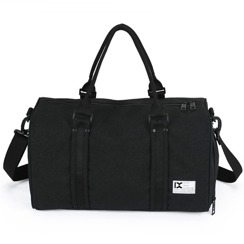 28L Waterproof Travel Duffele Bag with Separate Shoe Compartment for Men Women Sports Gym Tote Bag
