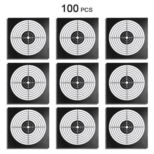 100 PCS Paintball Target Poster