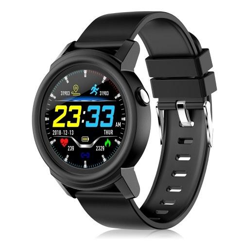DK02 1.3In IPS Full Circular Screen Fitness Smart Tracker Watch