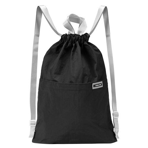 Saco de corda unisex do Gym do saco da trouxa do Drawstring