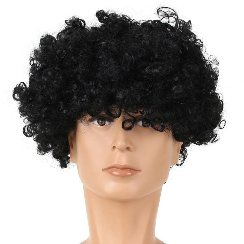 Soccer Fans Wig Explosion Curly Hairpiece TOMTOP фото