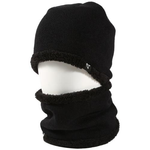 Conjunto de bufanda de sombrero de invierno de 2 piezas