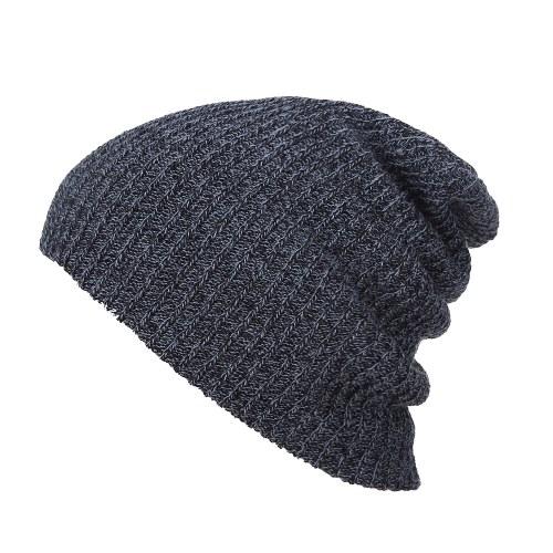 Мужская вязаная шапка зимняя