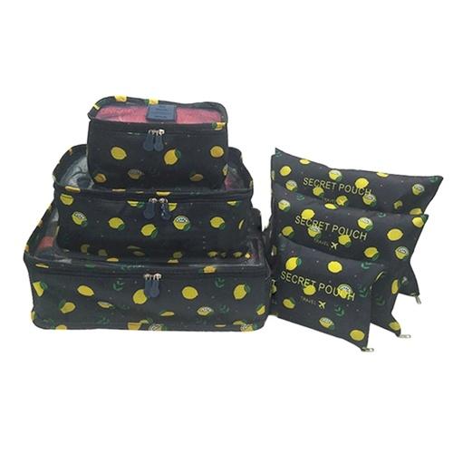 6 Pcs Travel Packing Bag Set