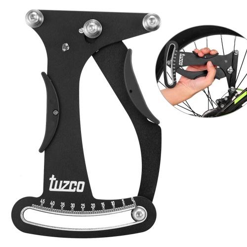 Fahrradspeichenspannungsmesser Fahrradspannungsmesser Radbauer Fahrrad-Aluminium-Radreparaturwerkzeug