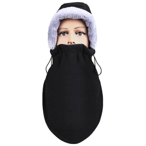 Зимняя теплая маска для лица Мужчины Женщины