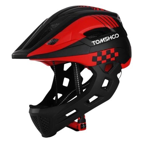 TOMSHOOH Kid Bike Full Face Helmet