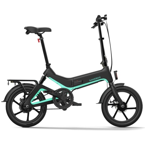 Samebike JG7186 16 Inch Folding Electric Bicycle 250W 25km/h
