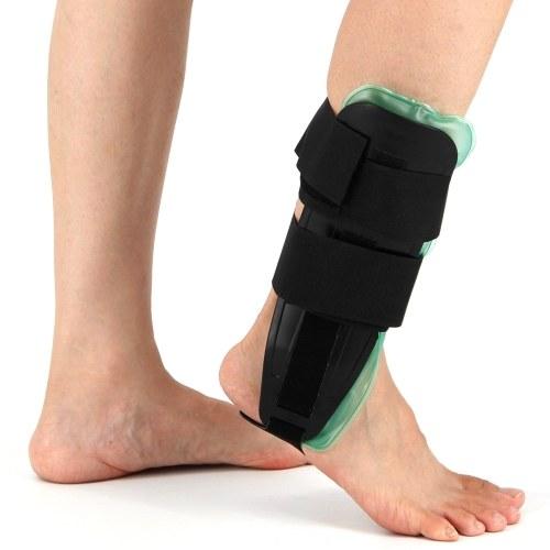 Attelle d'étrier de cheville Air Gel Support de stabilisateur d'attelle de cheville réglable pour les entorses et le soulagement de la douleur arthritique