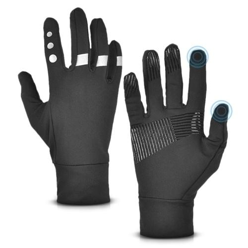 Luvas de inverno touchscreen ao ar livre à prova d'água térmica quente antiderrapante luvas de dedo completo para andar de bicicleta motociclismo esqui