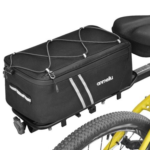 Bike Trunk Bag 7L Bicycle Rear Bag Bike Rack Bag with Waterproof Rain Cover Image