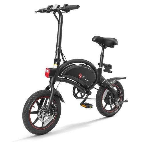 DYU D3 + Bicicletta elettrica pieghevole da 14 pollici Power Assist