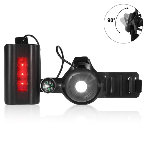 PX5 Water Resistant Adjustable Running Chest Light USB Rechargeable Sports Lamp