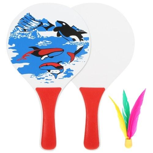 Raquete de badminton de críquete divertido