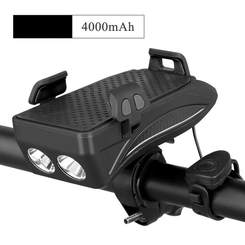 Bicycle Mobile Phone Bracket Riding Front Light