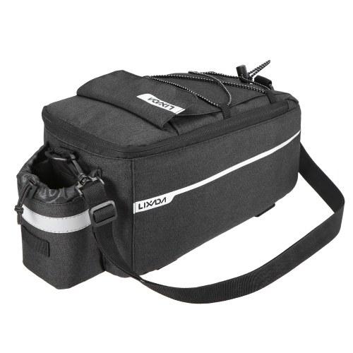Lixada Insulated Trunk Cooler Bag Cycling Bicycle Rear Rack Storage Luggage Bag Image