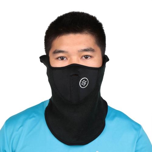 Bike Motorcycle Ski Snowboard Sport Neck Warmer Face Mask Neoprene Thermal Fleece Half Face Mask