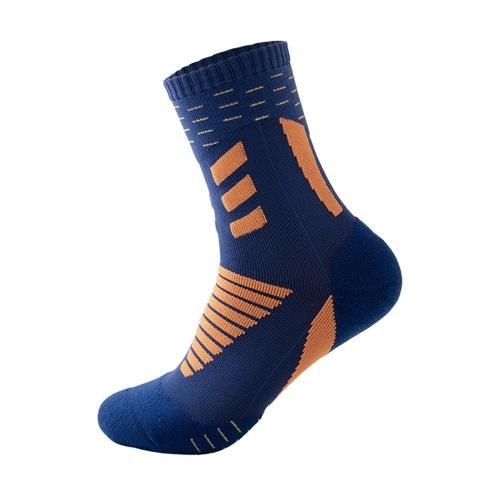 Men's Anti Slip Athletic Socks Sports Grip Socks for Basketball Soccer Volleyball Running Trekking Hiking Absorption Moisture Wicking Compression Socks Image