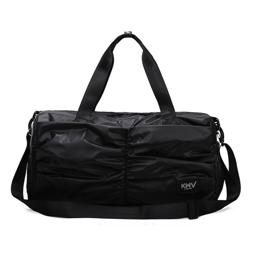 Unisex Handbag Nylon Waterproof Separated Shoes Compartement Large Capacity Multifunction Outdoor Sports Travelling Duffel Bag