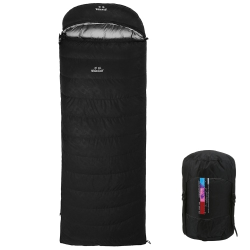 95% White Goose Down Lightweight Sleeping Bag 210x80cm with Compression Sack for Backpacking Camping Hiking Traveling