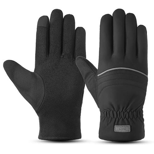 Зимние теплые перчатки мужские