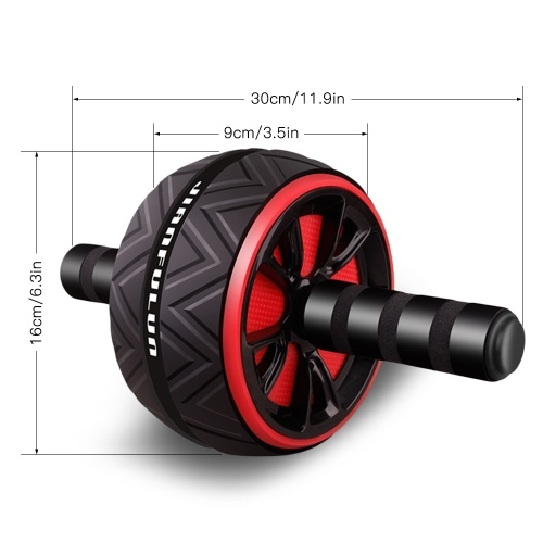 Abdominal Roller Exercise Wheel Fitness Equipment Mute Roller For Arms Back Belly Core Trainer Body Shape With Free Knee Pad For Men and Women