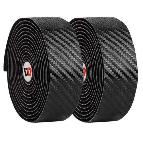 Carbon Fiber Handlear Tape Pattern EVA PU Tape Practical Shock-Proof Toughness Damping Anti-Vibration Bar tape Belt For Road Bike