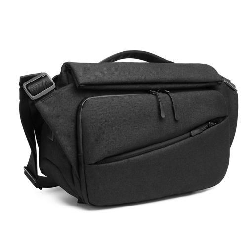 Ozuko New Style Multifunctional Men's Messenger Bag USB Waterproof College Student Fashion Brand Shoulder Bag
