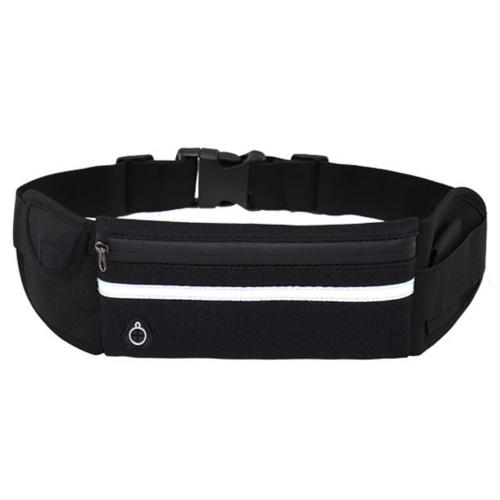 Bolsa de cintura para corrida com suporte para garrafa Bolsa de ginástica portátil para viagem esportiva com água para homens e mulheres