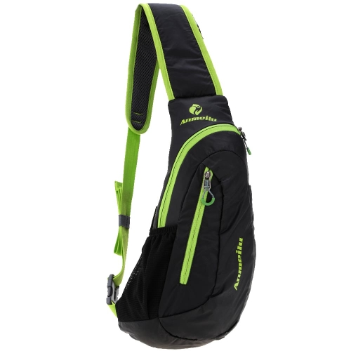 Ciclismo al aire libre bolso ligero resistente al agua Bolsa de hombro bolsa de Pecho Unisex Mochila Ocio moda