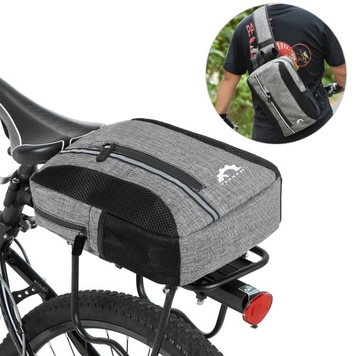 2-in-1 Waterproof Bicycle Insulated Cooler Bag