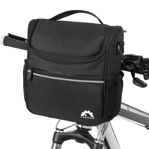 Bolsa más fresca con aislamiento de manillar de bicicleta impermeable