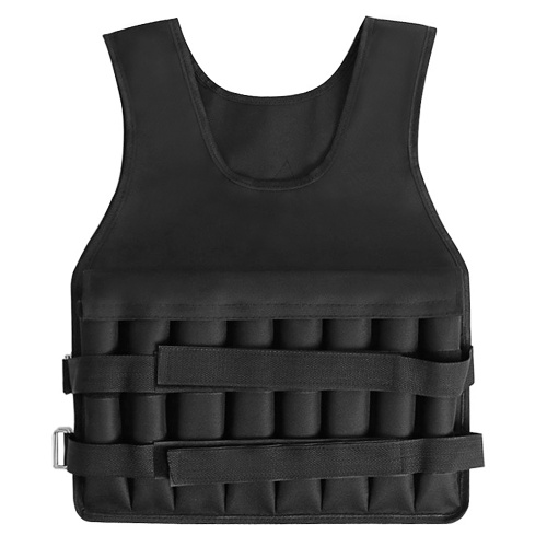 Adjustable Weighted Vest 20KG Max Loading for Exercises Fitness Muscle Building Weight Loss Running