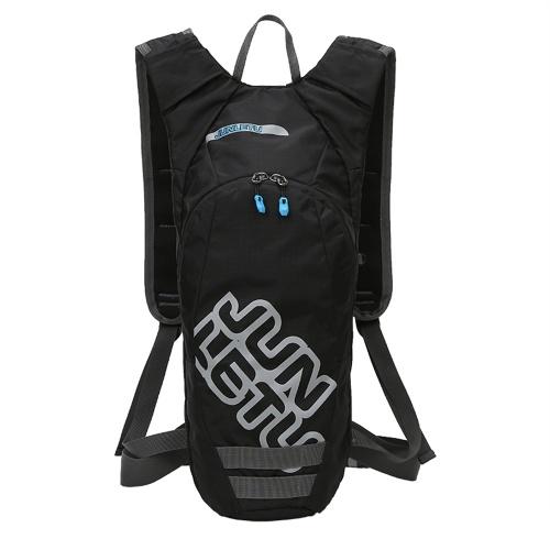 Trinkrucksack Outdoor-Kompaktrucksack für 2L Wasserblase Wasserdichter Mehrfachbeutel Leichter Fahrradlauf-Wanderrucksack
