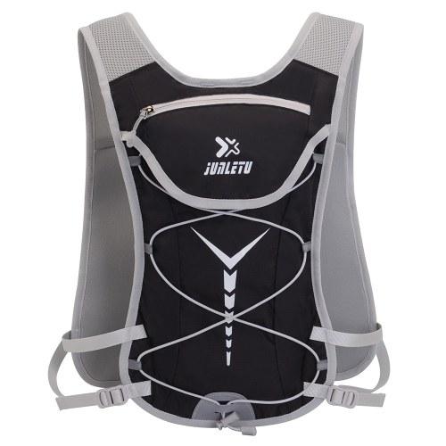 Trinkrucksack für 2L Wasserblase Tragfähigkeit Tragbarer, atmungsaktiver, leichter Wander-, Lauf-, Rad- und Kompaktrucksack