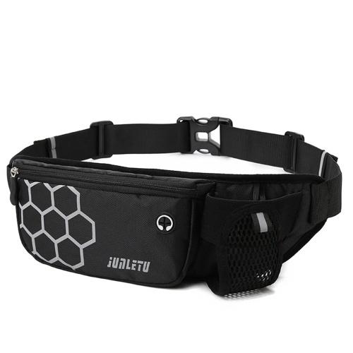 Multifunctional Bum Bag Reflective Sports Running Waist Belt Bag Hip Bag Crossbody Bag Pack Mobile Phone Holder Bag