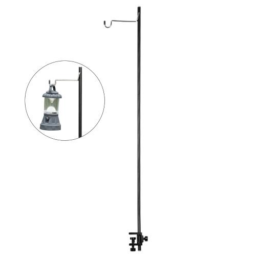 Lanterna removível suporte lâmpada tripé suporte de lâmpada de acampamento Suporte de lâmpada portátil acessório de acampamento