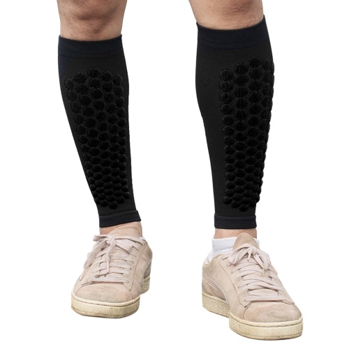 Sports Leg Guards Breathable Calf Wraps Shin Protector Compression Leg Guard Outdoor Fitness for Running Cycling Mountaineering
