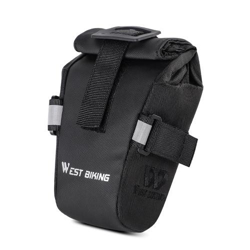 WEST BIKING Bicycle Bag Mountain Bike Road Bike Folding Tail Bag Back Seats Bag Cycling Equipment Accessories Image