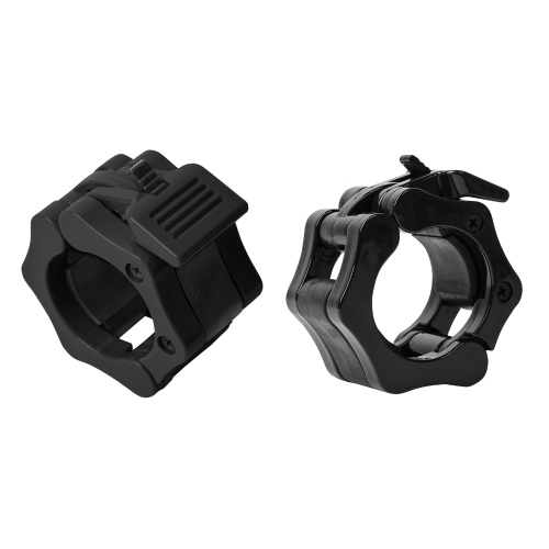 Barbells Clamps Pair of 2 Inch Quick Release Non-skid Workout Weightlifting Fitness Barbell Locking Collars
