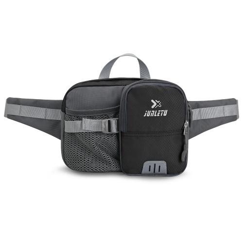 Pacote de cintura para esportes ao ar livre com suporte para garrafa de água bolsa de cintura bolsa para caminhada e ciclismo corrida