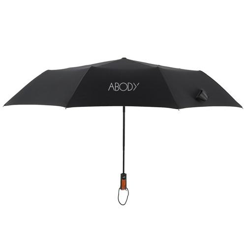 Abody Auto Regenschirm öffnen / schließen Kompakter Sonnen- und Regenschirm Tragbarer Reiseschirm Sonnensicherer winddichter Regenschirm