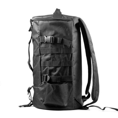 Multifunktionaler Angelrucksack mit großer Kapazität Outdoor-Reisen Camping Angelrute Reel Tackle Bag Umhängetasche Gepäcktasche